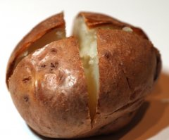 This is how to cook a baked potato