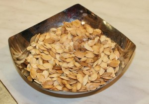This is how to cook pumpkin seeds