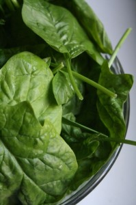 This is how to cook spinach