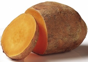 This is how to cook a sweet potato