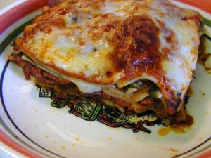 This is how to cook lasagna