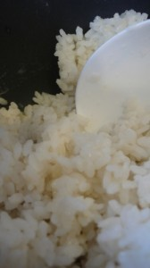 This is how to cook rice in a rice cooker